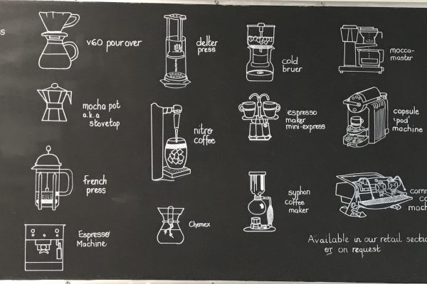 artwork coffee making